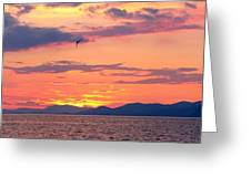 0016233 - Patras Sunset Greeting Card