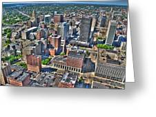 0017 Visual Highs Of The Queen City Greeting Card