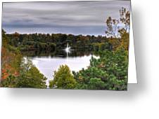 0018 Hoyt Lake Autumn 2013 Greeting Card