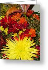 002 Flowers Waiting Greeting Card