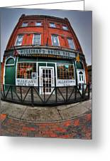 002 Mulligans Brick Bar Greeting Card