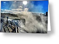 002 Niagara Falls Winter Wonderland Series Greeting Card