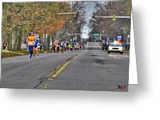 002 Turkey Trot  2014 Greeting Card