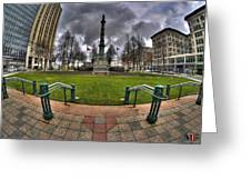 0029 Lafayette Square Greeting Card