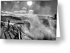 002a Niagara Falls Winter Wonderland Series Greeting Card