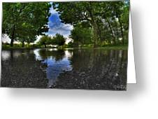 003 After The Rain At Hoyt Lake Greeting Card
