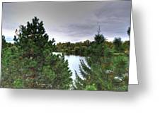003 Hoyt Lake Autumn 2013 Greeting Card