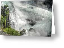 003 Niagara Falls Misty Blue Series Greeting Card