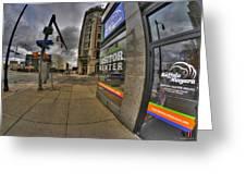 0031 Buffalo Niagara Visitor Center Greeting Card