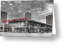 0038 Milwaukee Public Market Greeting Card