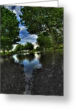 004 After The Rain At Hoyt Lake Greeting Card