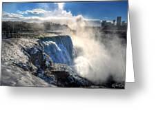 004 Niagara Falls Winter Wonderland Series Greeting Card