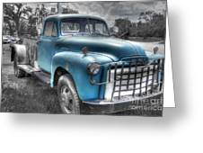 0043 Old Blue Greeting Card