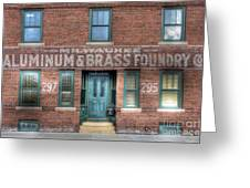 0044 Foundry Building Greeting Card