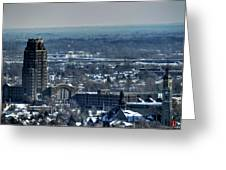 0045 After The Nov 2014 Storm Buffalo Ny Greeting Card