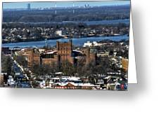 0048 After The Nov 2014 Storm Buffalo Ny Greeting Card