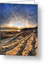 005 After The Ice Melts Erie Basin Marina Series Greeting Card
