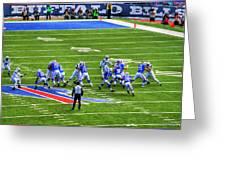 005 Buffalo Bills Vs Jets 30dec12 Greeting Card