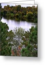 005 Hoyt Lake Autumn 2013 Greeting Card