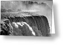 005a Niagara Falls Winter Wonderland Series Greeting Card