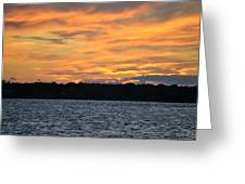 006 Awe In One Sunset Series At Erie Basin Marina Greeting Card