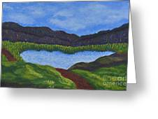 007 Landscape Greeting Card