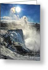 007 Niagara Falls Winter Wonderland Series Greeting Card
