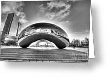 0079 The Bean - Millennium Park Chicago Greeting Card