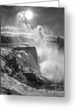 007a Niagara Falls Winter Wonderland Series Greeting Card