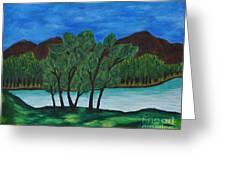 008 Landscape Greeting Card