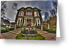 008 Mansion On Delaware Ave Greeting Card