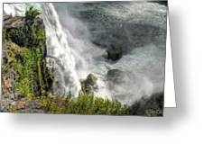 008 Niagara Falls Misty Blue Series Greeting Card
