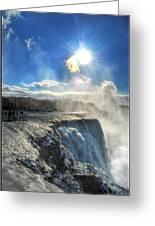 008 Niagara Falls Winter Wonderland Series Greeting Card