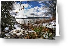 009 Grand Island Bridge Series Greeting Card