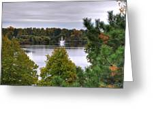 009 Hoyt Lake Autumn 2013 Greeting Card