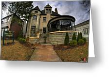 009 Law Offices Cornell Mansion Greeting Card