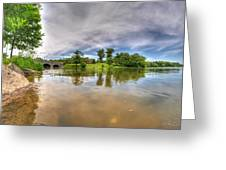 01 Reflecting At Hoyt Lake Series Greeting Card
