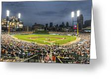 0101 Comerica Park - Detroit Michigan Greeting Card by Steve Sturgill