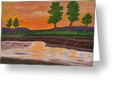 011 Landscape Greeting Card