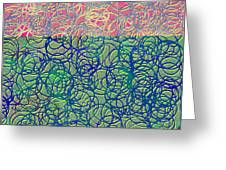 0122 Abstract Thought Greeting Card