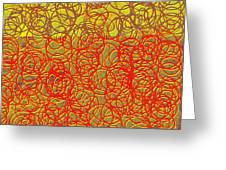 0124 Abstract Thought Greeting Card