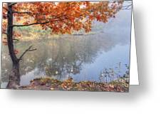 0132 Autumn At Starved Rock Greeting Card