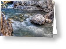 0143 Marble Canyon   Greeting Card