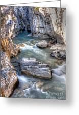 0144 Marble Canyon 2 Greeting Card