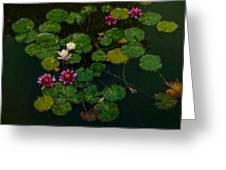 0151-lily -   Expressionist Plein Air Sl Greeting Card