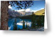 0164 Moraine Lake Greeting Card