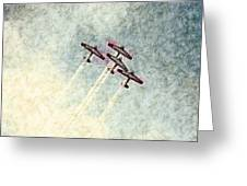 0166 - Air Show - Colored Photo 2 Hp Greeting Card