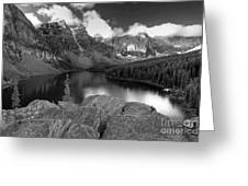 0166 Moraine Lake Greeting Card