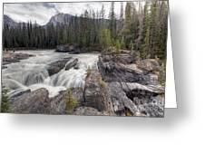 0182 Natural Bridge Waterfall Greeting Card