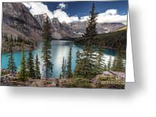 0184 Moraine Lake Greeting Card